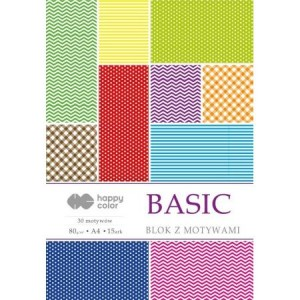 BLOK BASIC A4 HAPPY COLOR