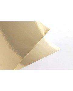 Papier metalizowany  MIRROR GOLD A4 300G 20ARK.