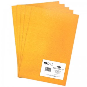 Filc poliestrowy A4 dark yellow