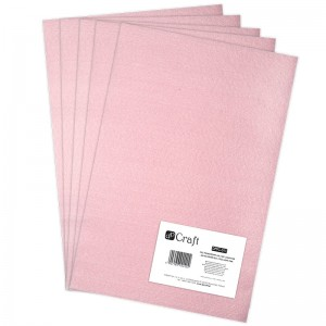 Filc poliestrowy A4 light pink